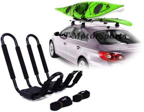 Kayak Rack For Sedan by Univerisal Roof J Rack Kayak Boat Canoe Surf Ski Car Top