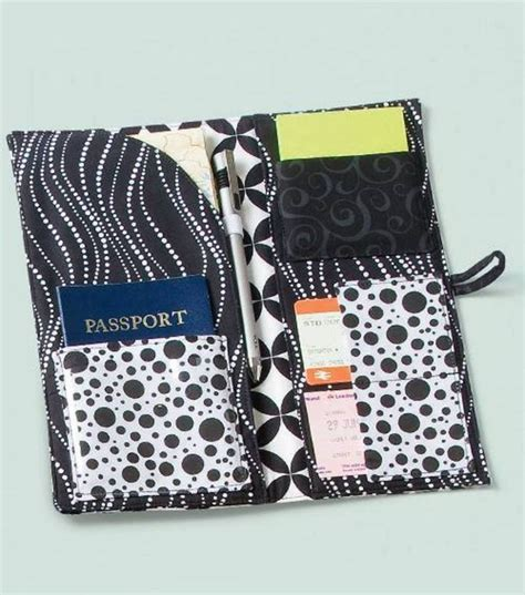 passport holder pattern sewing 501 best etuis portemonnaies organizer images on