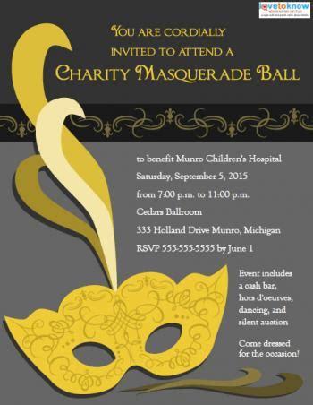 masquerade ball invitation templates lovetoknow