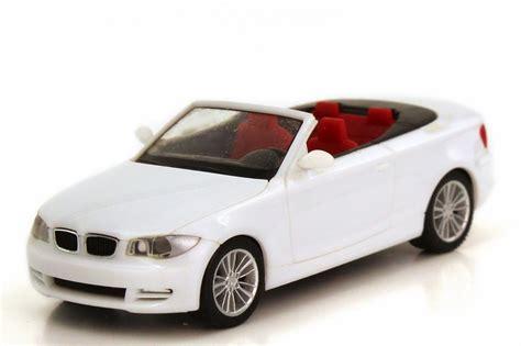 Bmw 1er Cabrio Modellauto by 1 87 Bmw 1er Cabrio E88 Wei 223 Herpa 023979