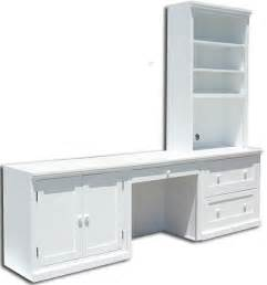 Small White Desk With Filing Cabinet Al S Woodcraft S Big Value Bookcases Amp Home Office Furniture