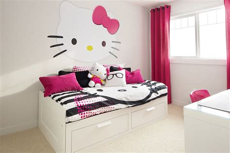 hellokitty bedroom adorably stylish 15 hello kitty bedrooms that delight and