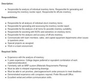 Inventory Specialist Description by Hiring Inventory Specialist Customer Services In Usa Global Careermine