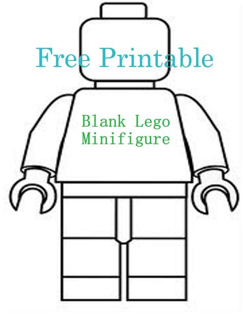 free lego templates printable lego birthday invitations blank lego