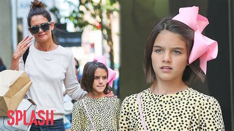 Tom Cruise Sign Suri Cruise As Baby Gap Model by Suri Cruise Is All Grown Up In New York City Splash News