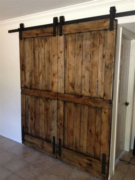 17 Best Images About Interior Barn Doors On Pinterest How To Make Interior Sliding Barn Doors