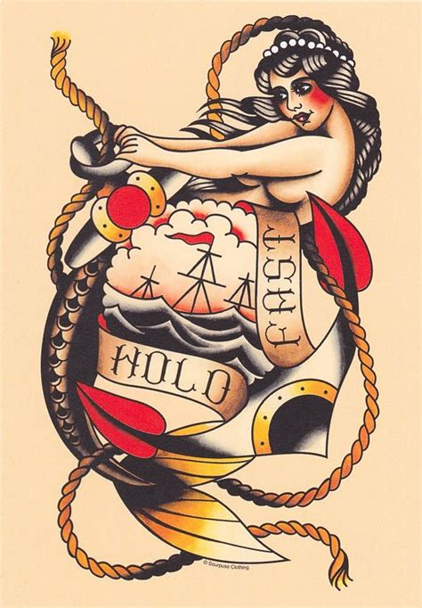hold fast is an old sailor tattoo in danish it means 357 best images about retro tattoos style on pinterest