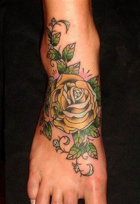 tattoo flower designs for feet all about fashion collection flower tattoos
