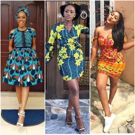 latest ankara short gown styles   woman fabwoman