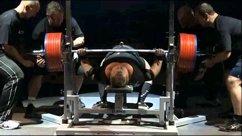 max bench record testsov viktor ukr 370 kg bench press world record