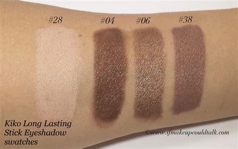 Water Eyeshadow And Lipstick Kiko kiko lasting stick eyeshadow review swatches and