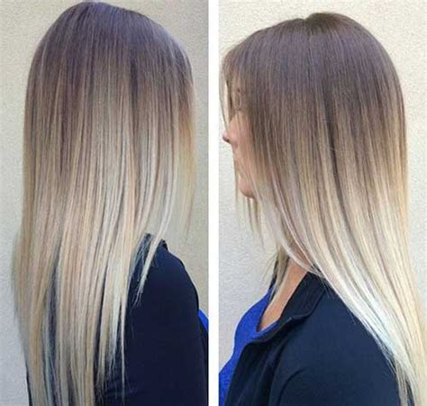 straight sholder length ombre hair 60 trendy ombre hairstyles 2018 brunette blue red