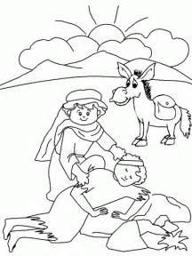 Faith Coloring Ccd Vbs Good Samaritan Page  sketch template