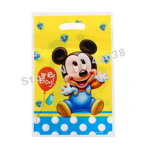 St Big Mickey Kid 12pcs loot bag for birthday festival decoration