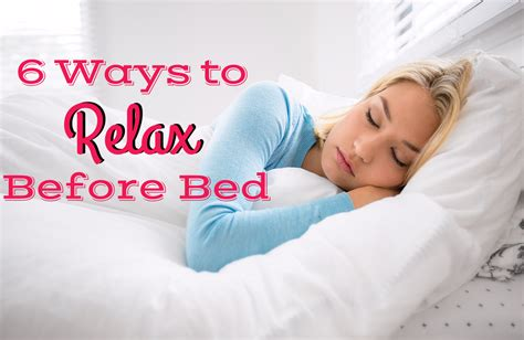 how to relax before bed 6 ways to relax before bed sparkpeople