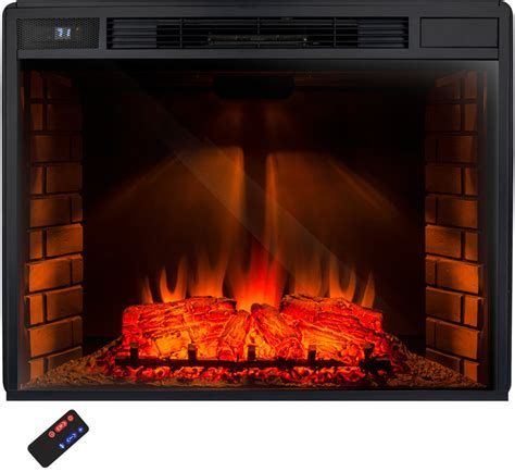 akdy electric fireplace 33 quot firebox heater freestanding