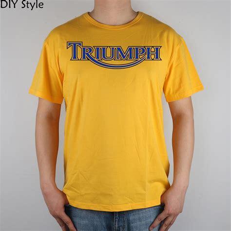 T Shirt Bike Show High Quality ᐂuk motorcycle coaster runaway triumph t shirt t shirt top lycra cotton cotton t shirt