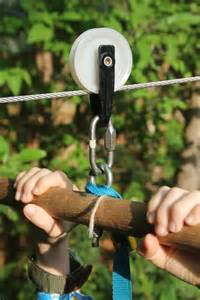 Backyard zip line for kids 171 the trailhead