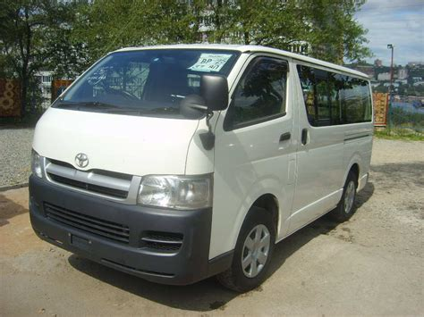 Toyota Hiace For Sale 2004 Toyota Hiace For Sale 2 5 Gasoline Automatic For Sale