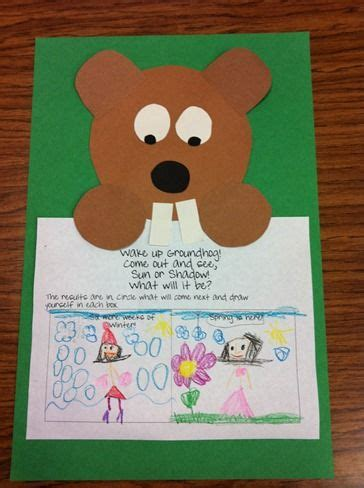 groundhog day kindergarten 100 best groundhog day activities images on