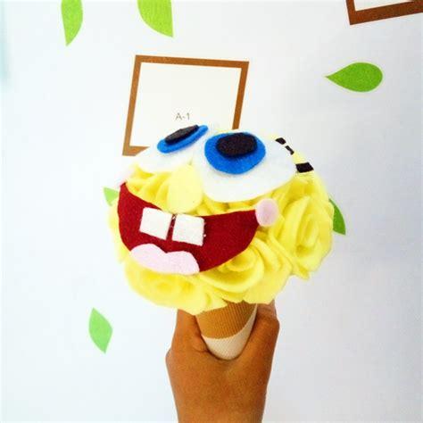 Boneka Wisuda Spongebob jual buket bunga stitch limited edition murah kado wisudaku