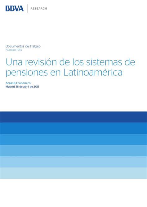una antrop 243 loga en sistemas de pensiones una revisi 243 n de los sistemas