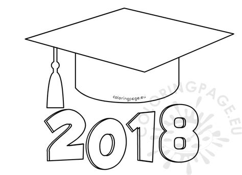 Coloring Pages 2018 Graduation 2018 Coloring Page Coloring Page by Coloring Pages 2018