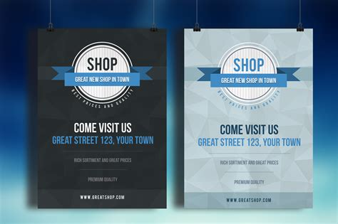 shop flyer psd template flyer templates on creative market