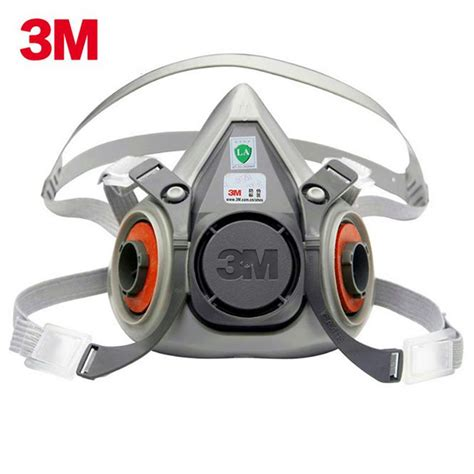 3m 6200 silicone mask anti particulate dust mask anti