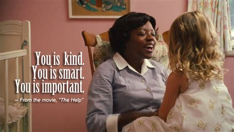 The Help Meme - quote you is kind you is smart nhne pulse
