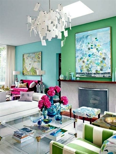 colors that go well together in home decorating wall color mint green gives your living room a magical