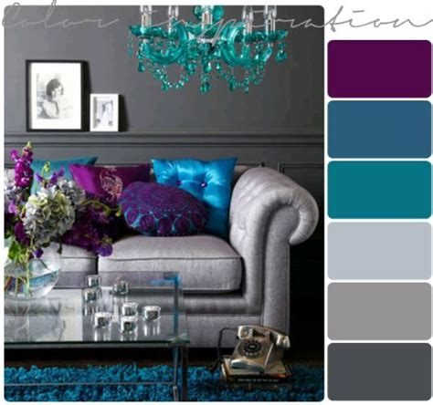 purple teal slate living room interior design ideas purple grey and turquoise living room my living room