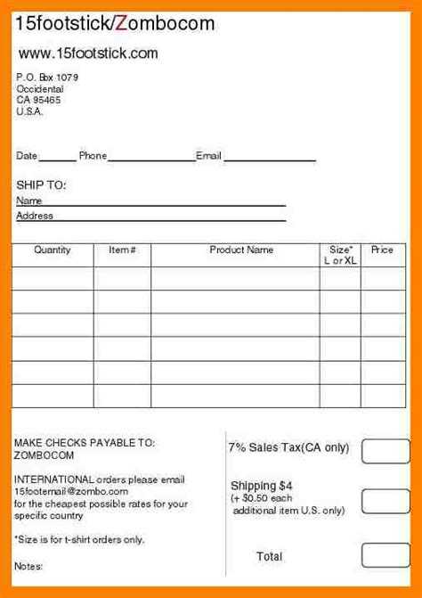 printable work order sheets print work order forms bing images