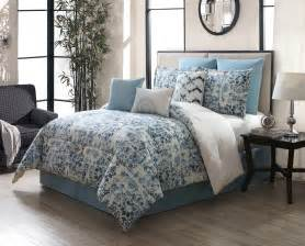 cotton comforter 9 teal ivory 100 cotton comforter set