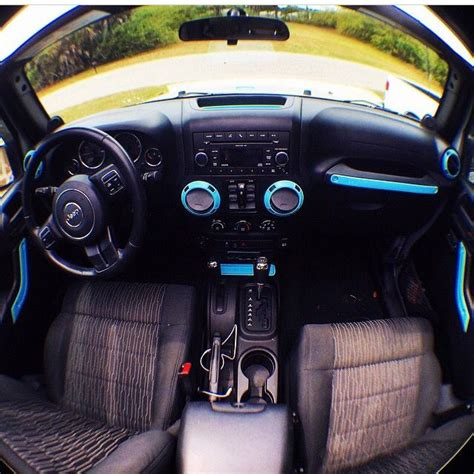 blue jeep accessories jeep wrangler w blue accents okay for my