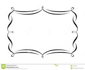 frame outline template decorative brackets clipart