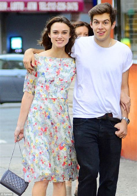 Not So Happy Keira Knightley And Boyfriend Rubert Friend by Joined At The Hip Lovebirds Keira Knightly And