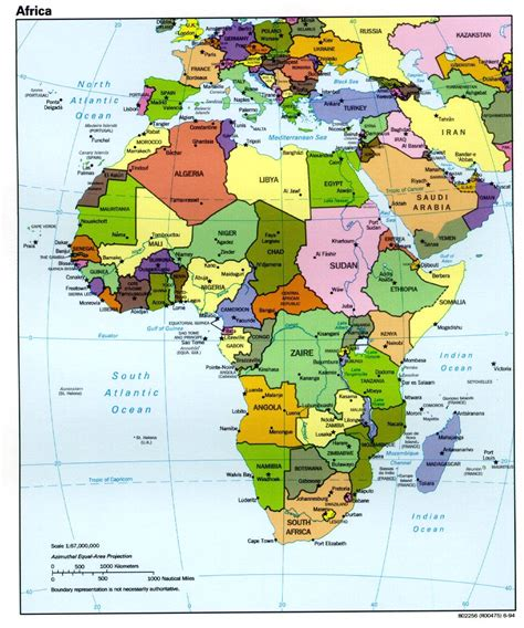 africa map with cities map of africa with capital cities