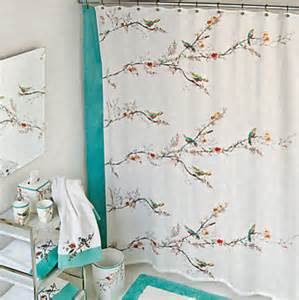 simply lenox chirp shower curtain contemporary