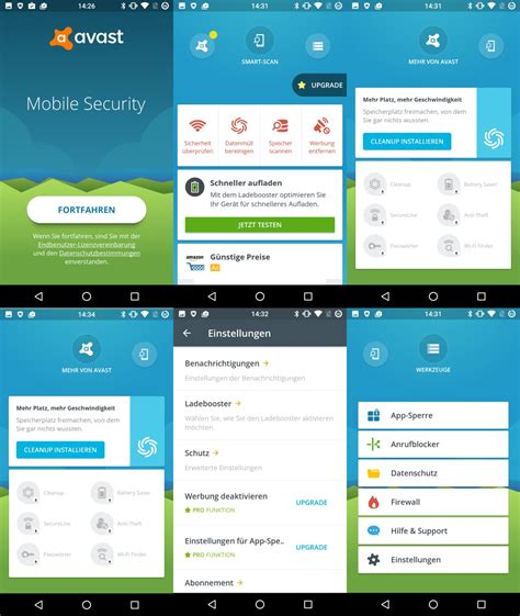 avast mobile security antivirus zdnet de - Avast Android