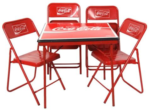 Co Ke Furniture by Coca Cola Advertising Table Chairs