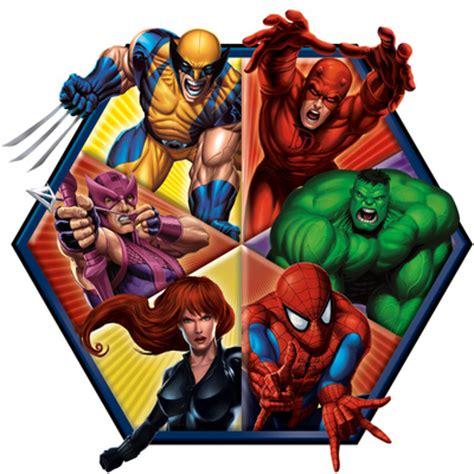 printable heroes giants marvel heroes wolverine daredevil hawkeye hulk black