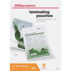Office Depot Laminating Office Depot Laminating Pouches 250 2 X 125 Micron A4 Matt