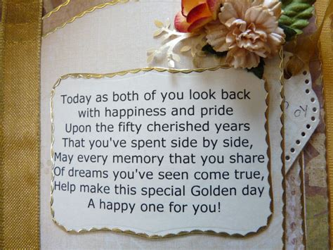 50th wedding anniversary poems 50th wedding anniversary