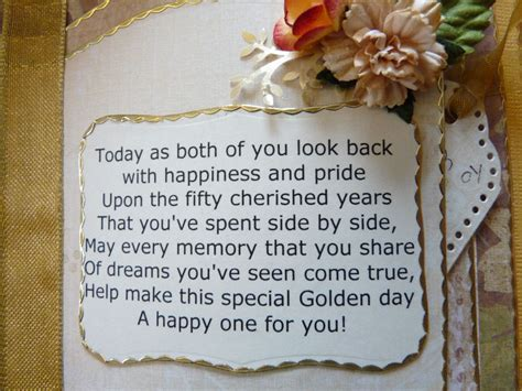 .: 50th Wedding Anniversary