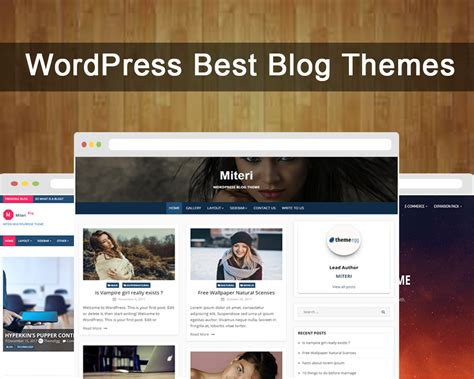 wordpress themes zonder blog best wordpress blogging theme collection 2018 free and