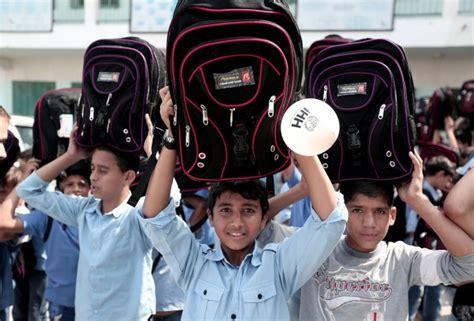 Tas Palestina ihh distribusikan 5 000 tas sekolah di gaza