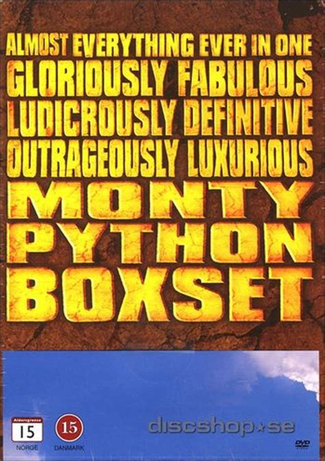 se filmer everything everything monty python almost absolutely everything boxset 13 disc