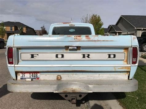 Truck Bed Air Mattress Ford Ranger by 1968 Ford F 100 Ranger 1 2 Ton Bed Truck Low