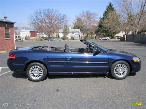 Chrysler Sebring 2006 Convertible by Midnight Blue Pearl 2006 Chrysler Sebring Convertible